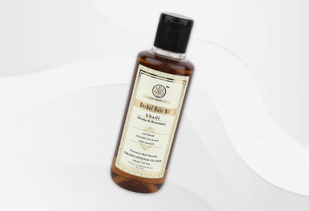 Khadi-Natural-Henna - & - Rosemary-Herbal-Hair-Oil